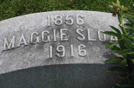SLOAN, MAGGIE - Logan County, Ohio   MAGGIE SLOAN - Ohio Gravestone Photos