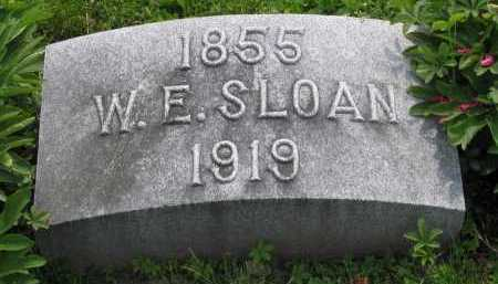 SLOAN, WILLIAM - Logan County, Ohio | WILLIAM SLOAN - Ohio Gravestone Photos