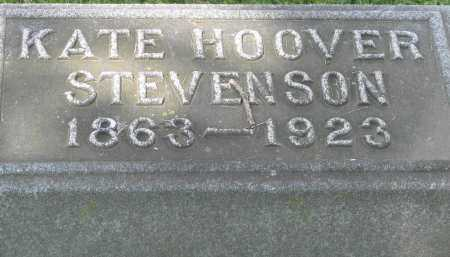 HOOVER STEVENSON, KATE - Logan County, Ohio | KATE HOOVER STEVENSON - Ohio Gravestone Photos