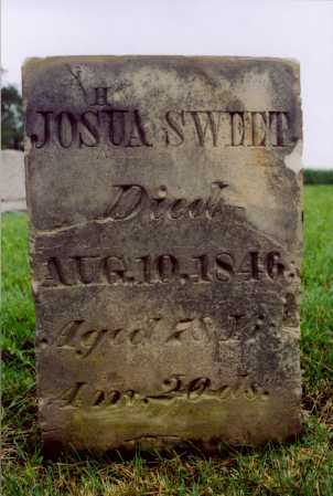 SWEET, JOSHUA - Logan County, Ohio | JOSHUA SWEET - Ohio Gravestone Photos