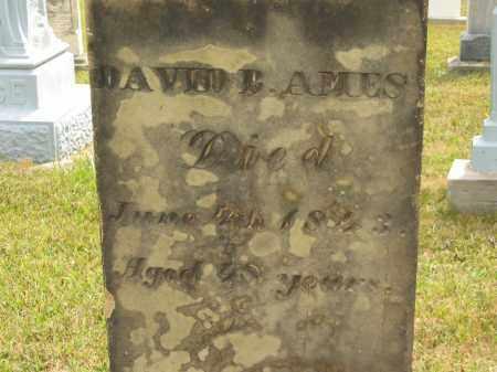 AMES, DAVID B. - Lorain County, Ohio   DAVID B. AMES - Ohio Gravestone Photos