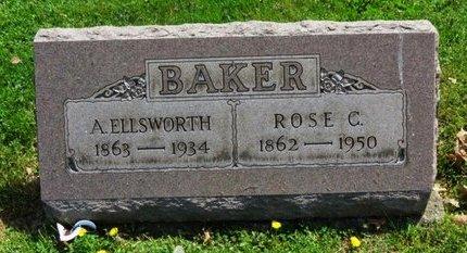 BAKER, ROSE C. - Lorain County, Ohio | ROSE C. BAKER - Ohio Gravestone Photos