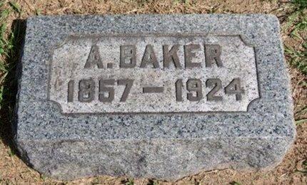 BAKER, A. - Lorain County, Ohio | A. BAKER - Ohio Gravestone Photos
