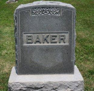 BAKER, FAMILY MARKER - Lorain County, Ohio | FAMILY MARKER BAKER - Ohio Gravestone Photos