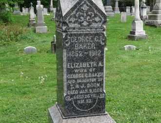 BAKER, GEORGE C. - Lorain County, Ohio | GEORGE C. BAKER - Ohio Gravestone Photos