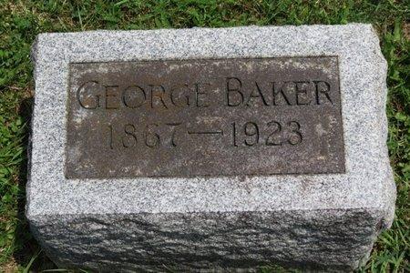 BAKER, GEORGE - Lorain County, Ohio | GEORGE BAKER - Ohio Gravestone Photos