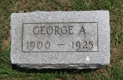 BAKER, GEORGE A. - Lorain County, Ohio | GEORGE A. BAKER - Ohio Gravestone Photos