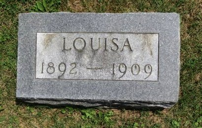 BAKER, LOUISA - Lorain County, Ohio | LOUISA BAKER - Ohio Gravestone Photos