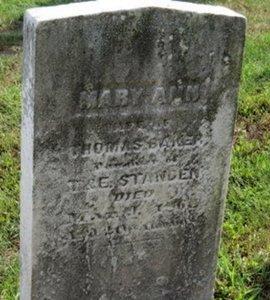 BAKER, MARY ANN - Lorain County, Ohio | MARY ANN BAKER - Ohio Gravestone Photos