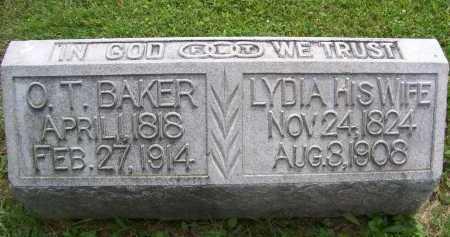 BAKER, LYDIA - Lorain County, Ohio | LYDIA BAKER - Ohio Gravestone Photos
