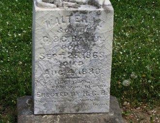 BAKER, WALTER M. - Lorain County, Ohio | WALTER M. BAKER - Ohio Gravestone Photos