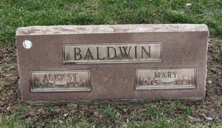 BALDWIN, AUGUST - Lorain County, Ohio | AUGUST BALDWIN - Ohio Gravestone Photos