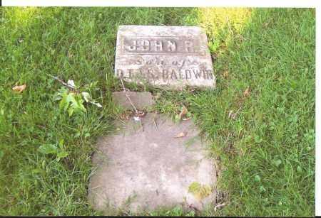 BALDWIN, JOHN R. - Lorain County, Ohio | JOHN R. BALDWIN - Ohio Gravestone Photos