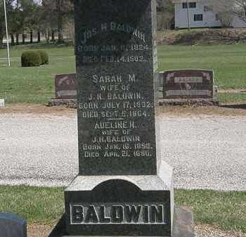 BALDWIN, SARAH M. - Lorain County, Ohio | SARAH M. BALDWIN - Ohio Gravestone Photos