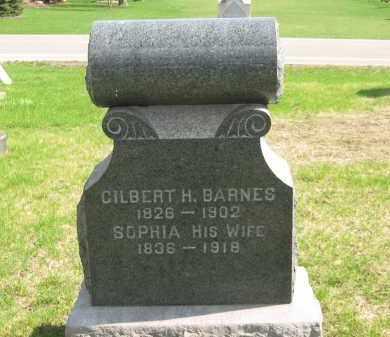 BARNES, GILBERT H. - Lorain County, Ohio | GILBERT H. BARNES - Ohio Gravestone Photos