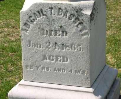 BASSETT, ABIGAIL T. - Lorain County, Ohio | ABIGAIL T. BASSETT - Ohio Gravestone Photos
