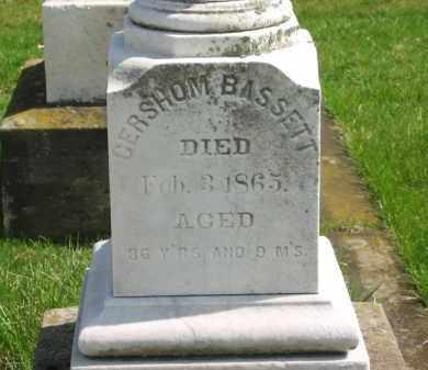 BASSETT, GERSHOM - Lorain County, Ohio   GERSHOM BASSETT - Ohio Gravestone Photos