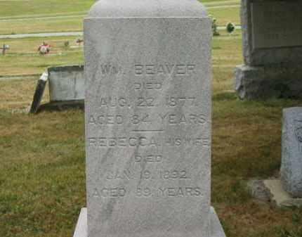 BEAVER, WM. - Lorain County, Ohio | WM. BEAVER - Ohio Gravestone Photos