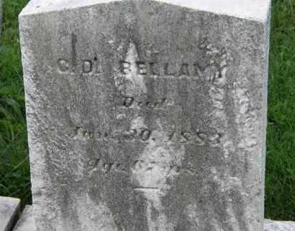 BELLAMY, C.D. - Lorain County, Ohio | C.D. BELLAMY - Ohio Gravestone Photos