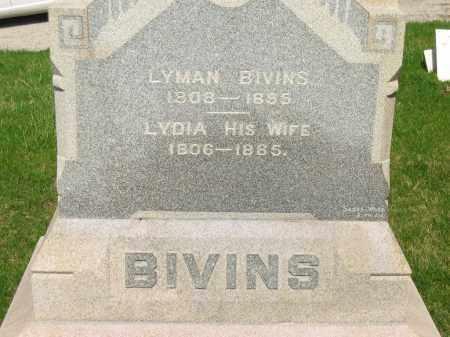 BIVINS, LYMAN - Lorain County, Ohio | LYMAN BIVINS - Ohio Gravestone Photos