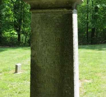 BROWN, ABRAM - Lorain County, Ohio | ABRAM BROWN - Ohio Gravestone Photos