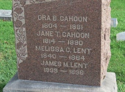 CAHOON, JANE T. - Lorain County, Ohio | JANE T. CAHOON - Ohio Gravestone Photos