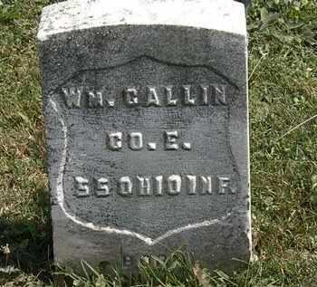 CALLIN, WM. - Lorain County, Ohio | WM. CALLIN - Ohio Gravestone Photos