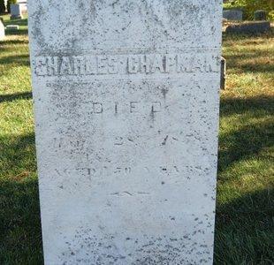 CHAPMAN, CHARLES - Lorain County, Ohio | CHARLES CHAPMAN - Ohio Gravestone Photos