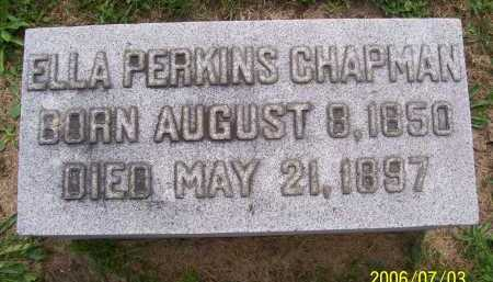 CHAPMAN, ELLA - Lorain County, Ohio | ELLA CHAPMAN - Ohio Gravestone Photos