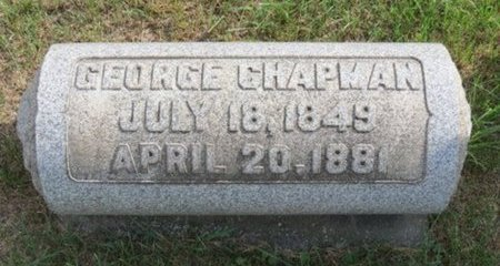 CHAPMAN, GEORGE - Lorain County, Ohio | GEORGE CHAPMAN - Ohio Gravestone Photos