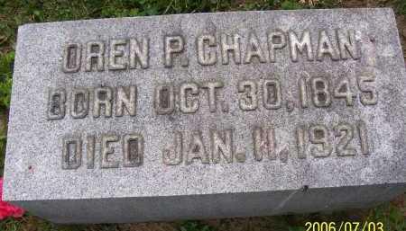 CHAPMAN, OREN P. - Lorain County, Ohio   OREN P. CHAPMAN - Ohio Gravestone Photos