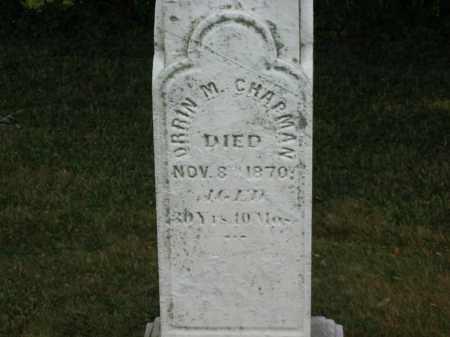 CHAPMAN, ORRIN M. - Lorain County, Ohio   ORRIN M. CHAPMAN - Ohio Gravestone Photos