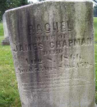 CHAPMAN, RACHEL - Lorain County, Ohio | RACHEL CHAPMAN - Ohio Gravestone Photos