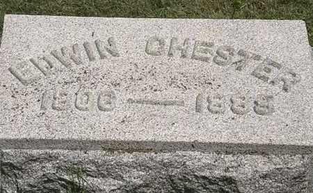 CHESTER, RDWIN - Lorain County, Ohio   RDWIN CHESTER - Ohio Gravestone Photos