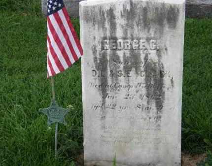 CLARK, GEORGE C. - Lorain County, Ohio | GEORGE C. CLARK - Ohio Gravestone Photos