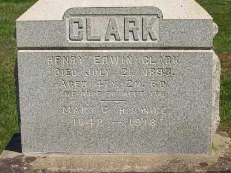 CLARK, MARY C. - Lorain County, Ohio | MARY C. CLARK - Ohio Gravestone Photos