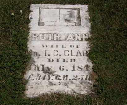 CLARK, RUTH ANN - Lorain County, Ohio | RUTH ANN CLARK - Ohio Gravestone Photos
