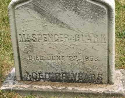 CLARK, SPENCER - Lorain County, Ohio | SPENCER CLARK - Ohio Gravestone Photos