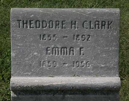 CLARK, EMMA F. - Lorain County, Ohio | EMMA F. CLARK - Ohio Gravestone Photos