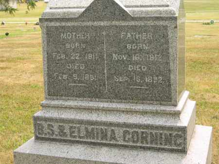 CORNING, ELMINA - Lorain County, Ohio | ELMINA CORNING - Ohio Gravestone Photos