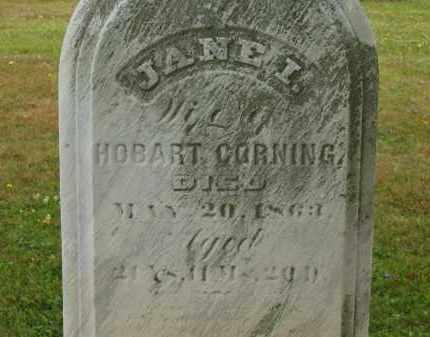 CORNING, JANE I. - Lorain County, Ohio | JANE I. CORNING - Ohio Gravestone Photos