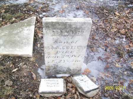 COZZENS, ENOS - Lorain County, Ohio | ENOS COZZENS - Ohio Gravestone Photos