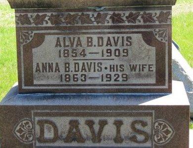 DAVIS, ALVA B. - Lorain County, Ohio | ALVA B. DAVIS - Ohio Gravestone Photos