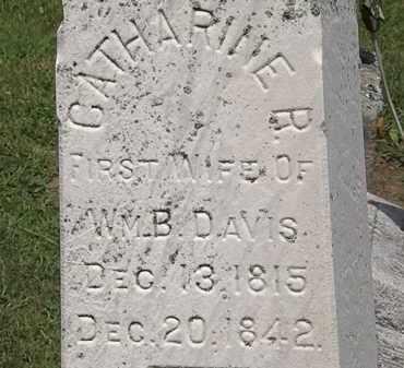 DAVIS, CATHARINE R. - Lorain County, Ohio | CATHARINE R. DAVIS - Ohio Gravestone Photos