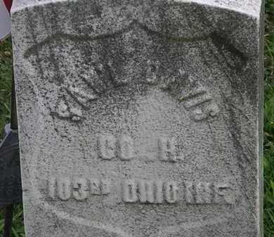 DAVIS, SAM'L - Lorain County, Ohio | SAM'L DAVIS - Ohio Gravestone Photos