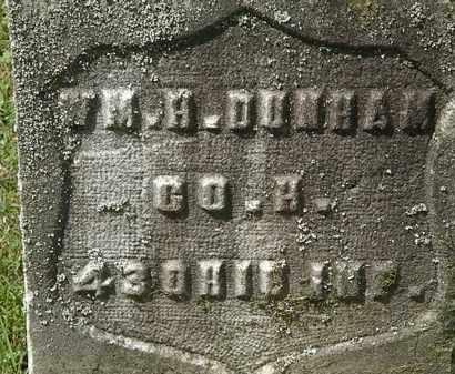 DUNHAM, WM. H. - Lorain County, Ohio | WM. H. DUNHAM - Ohio Gravestone Photos