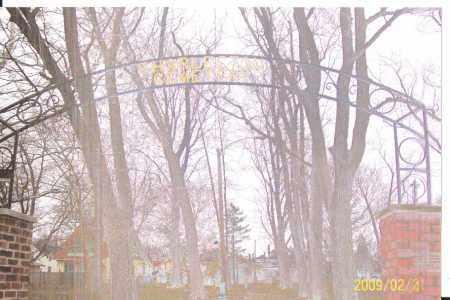 ENTRANCE, CHARLESTON CEMETERY - Lorain County, Ohio | CHARLESTON CEMETERY ENTRANCE - Ohio Gravestone Photos
