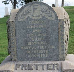 FRETTER, ANN - Lorain County, Ohio | ANN FRETTER - Ohio Gravestone Photos