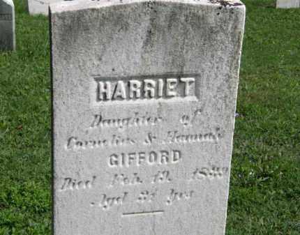 GIFFORD, HANNAH - Lorain County, Ohio | HANNAH GIFFORD - Ohio Gravestone Photos