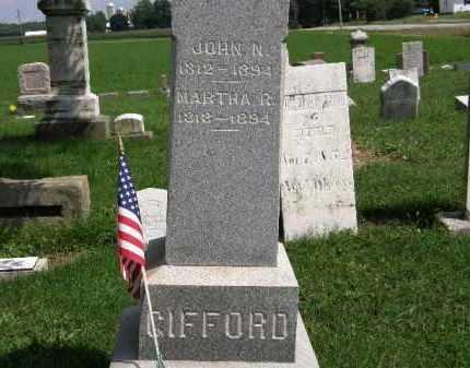 GIFFORD, MARTHA R. - Lorain County, Ohio   MARTHA R. GIFFORD - Ohio Gravestone Photos